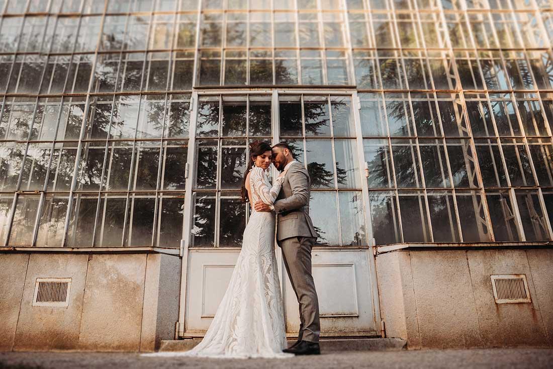 Amazing wedding venue Sežana Botanical Garden is perfect for boho weddings