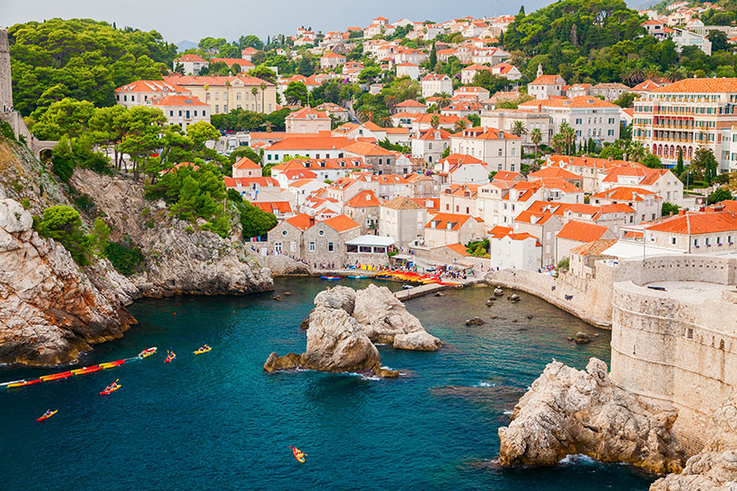 Wallet friendly destination wedding location is Dubrovnik in Croatia.