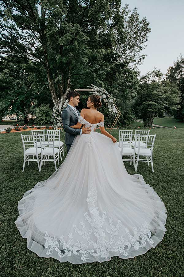 Wedding ceremony at Bled Rose Hotel in Slovenia