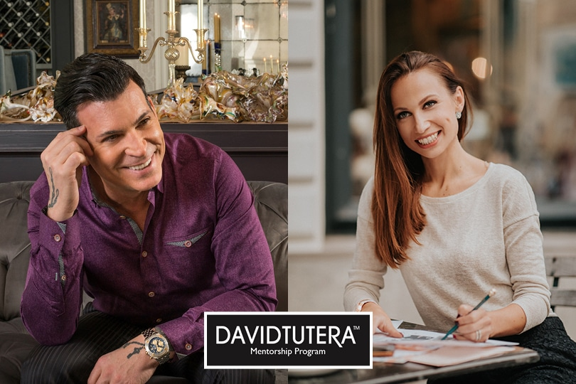 Famous wedding planner David Tutera and Lake Bled wedding planner during their meeting