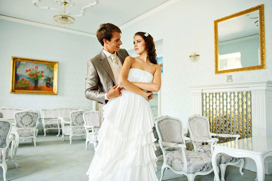 Established, grand hotel venue, located right beside the lake with multiple spaces for wedding reception