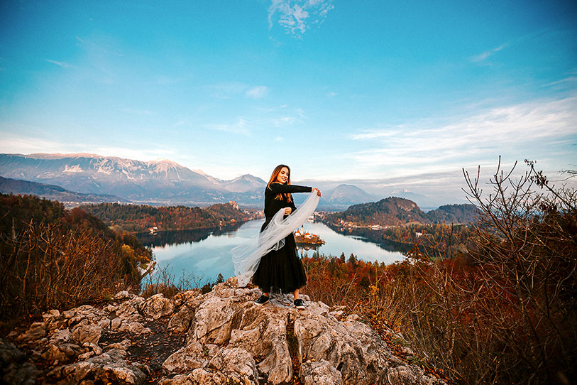 Lake Bled is the most magical wedding destination you'll find anywhere across the globe