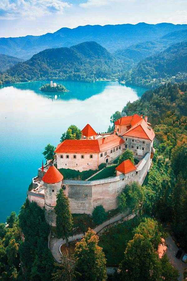 Lake Bled Castle is one of the top slovenian wedding venues
