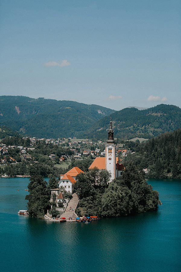 Bled Island - most recognized wedding venue in Slovenia
