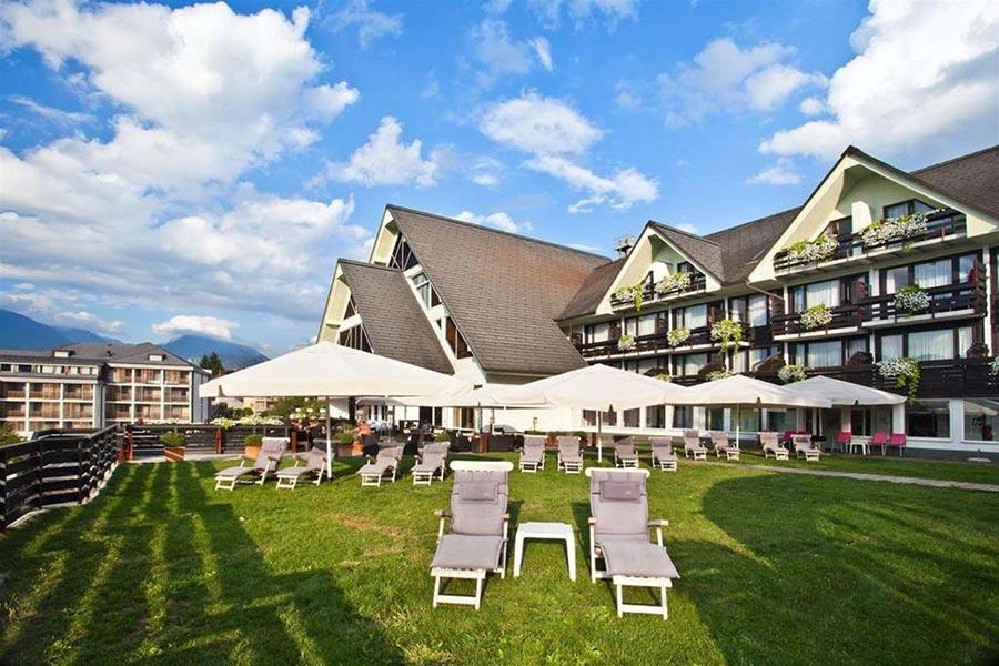 Lake Bled wedding venue Hotel Kompas Bled