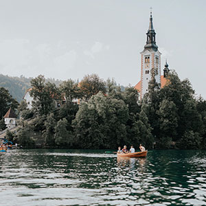 Bled Island with the church for your church wedding