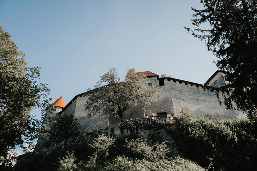 A fantastic wedding day at the Lake Bled castle filled with fun, historic and unique experiences.