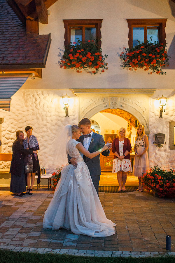 guest house Berc - perfect for chic, rustic or boho wedding in Lake Bled