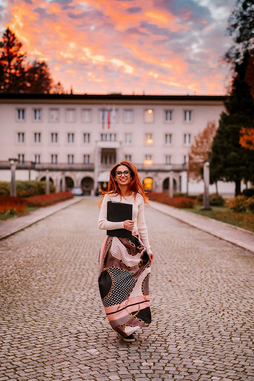 Petra Starbek at Vila Bled - the best wedding venue for your Lake Bled wedding.